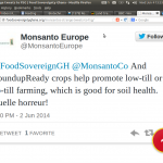Monsanto Tweet