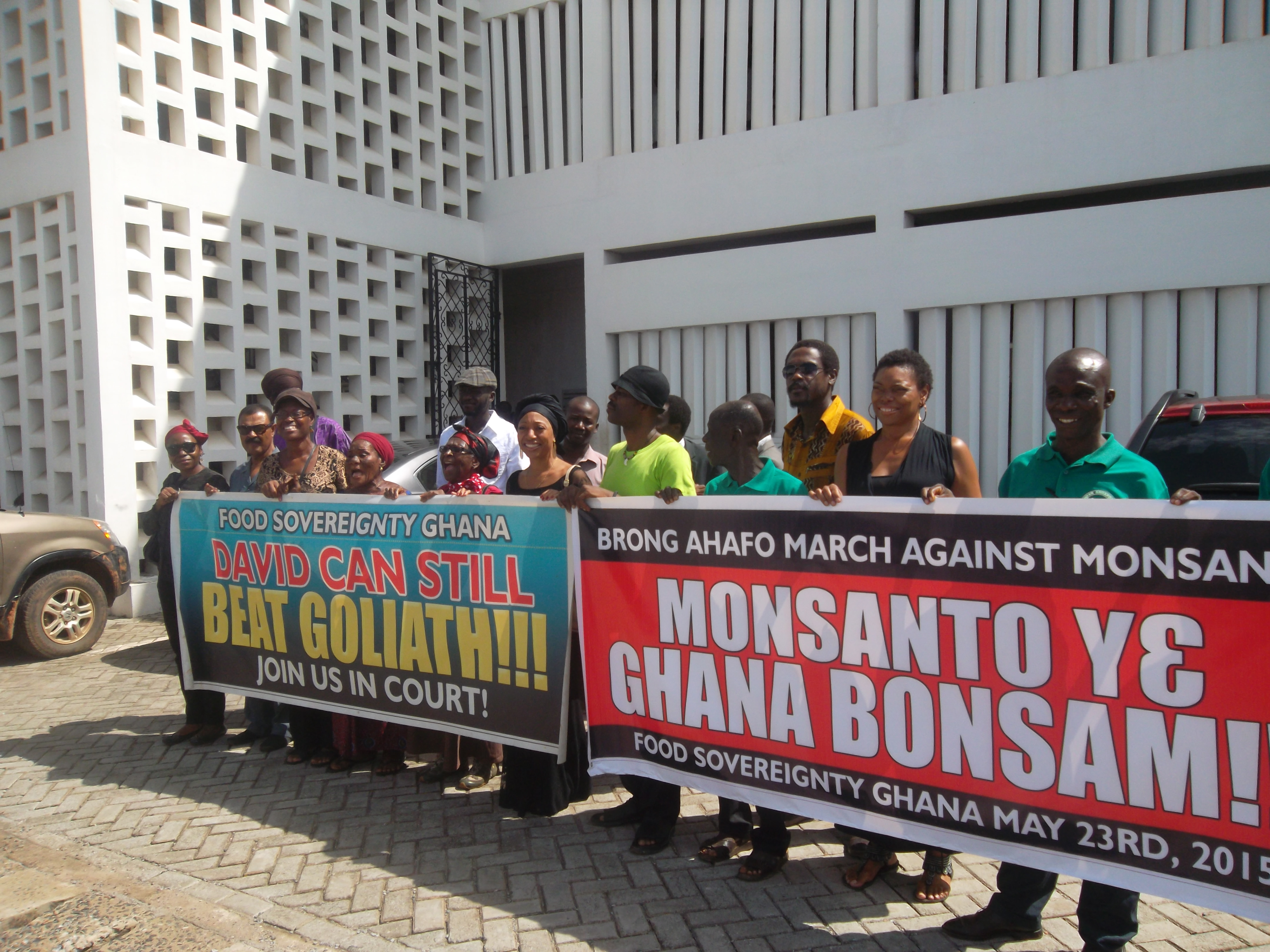 FSG Goes To Court Today Over Bt Cowpeas and GM Rice | Food