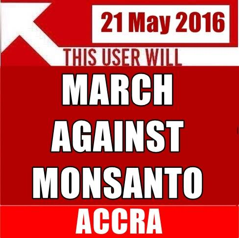 Saturday, May 21st, 2016. ‪#‎MarchAgainstMonsanto‬ - Accra, Assembling in front of TV3 at 7.30am