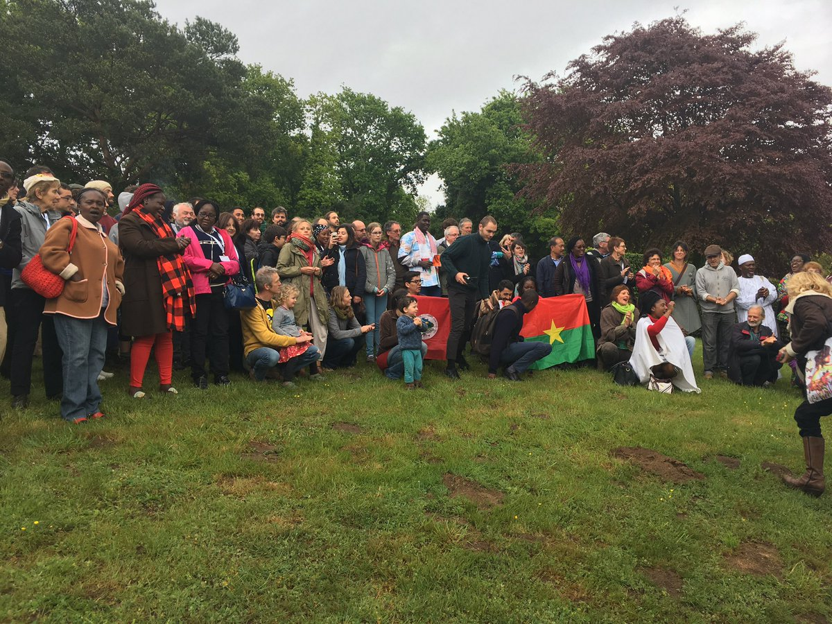 Group photograph of participants at the international meetings of convergence of Resistance to GMOs, Lorient, France, April, 28- 30, 2017