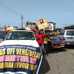 HANDS OFF VENEZUELA!  In Solidarity with the Bolivarian Revolution!